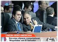 A Cimeira Ibero-Americana está a ser um sucesso … para o Magalhães