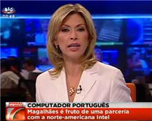 Portátil português para exportação
