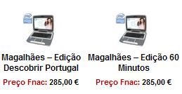 FNAC começou a vender os Magalhães ao público